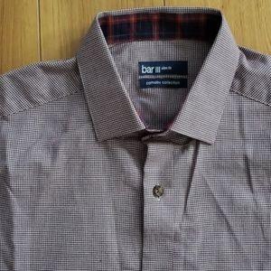 Bar III Houndstooth Dress Shirt